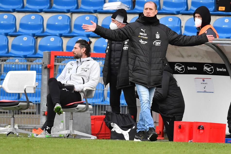 FSV-Trainer Joe Enochs traf in Unterhaching die richtigen Entscheidungen.