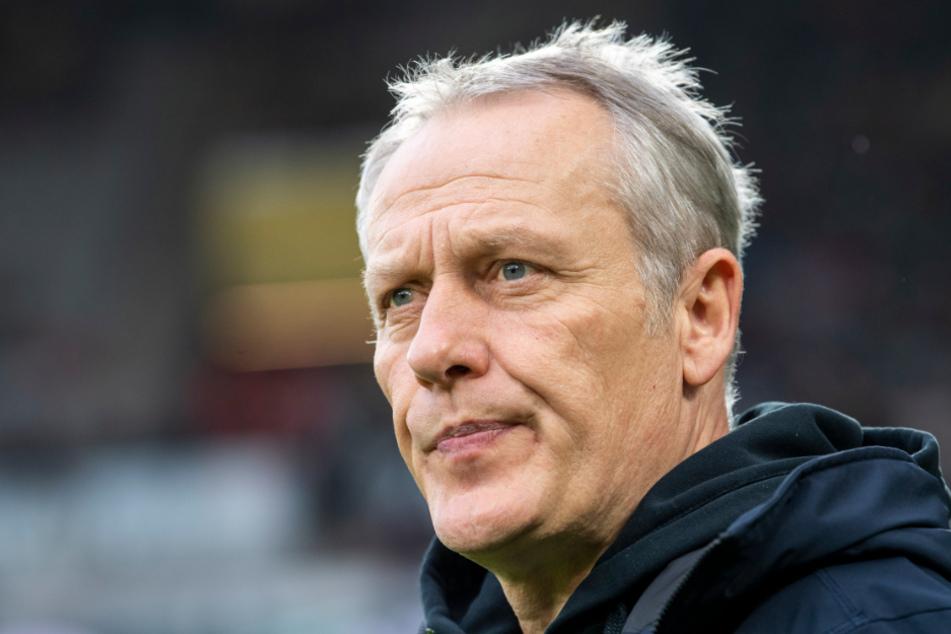 Freiburgs Trainer Christian Streich findet deutliche Worte.