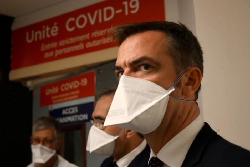 Frankreichs Gesundheitsminister Olivier Véran (40).