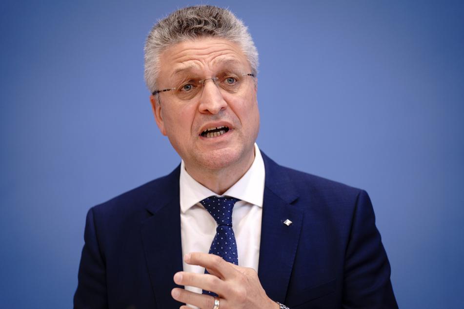 Lothar Wieler (60), Präsident des Robert-Koch-Instituts (RKI).