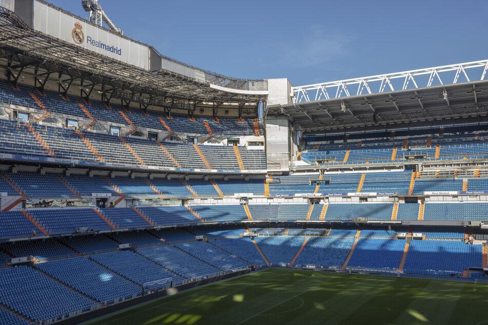 Das weltberühmte Bernabéu von Madrid.