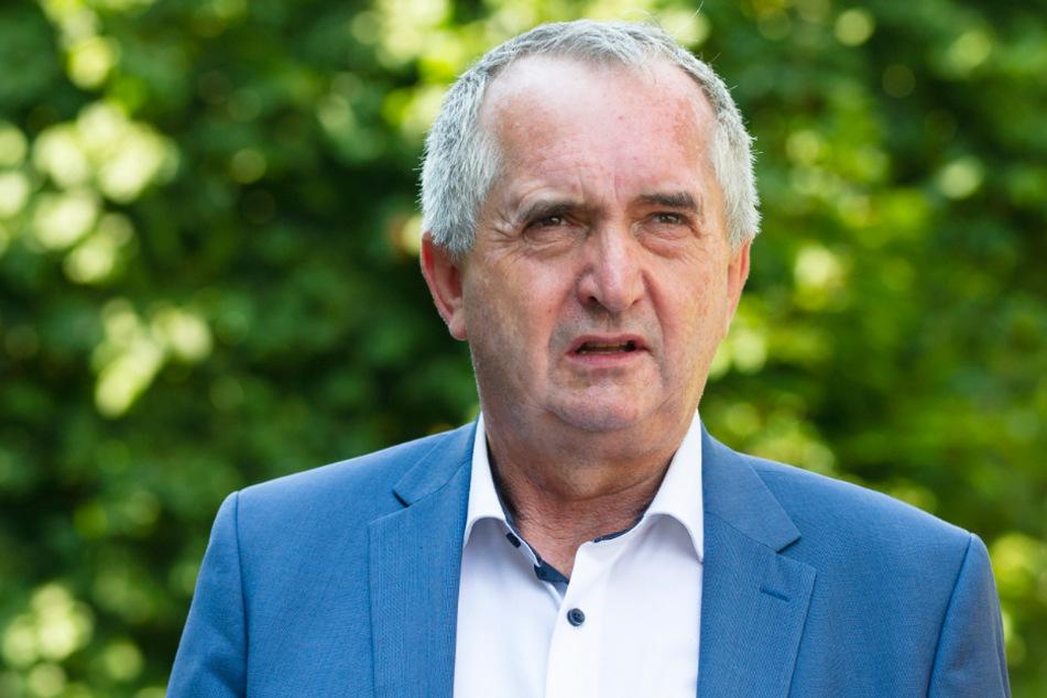 Regionalentwicklungs-Minister Thomas Schmidt (59, CDU) informierte sich am Mittwoch in Chemnitz und Flöha zu Denkmal-Projekten und -Baustellen.