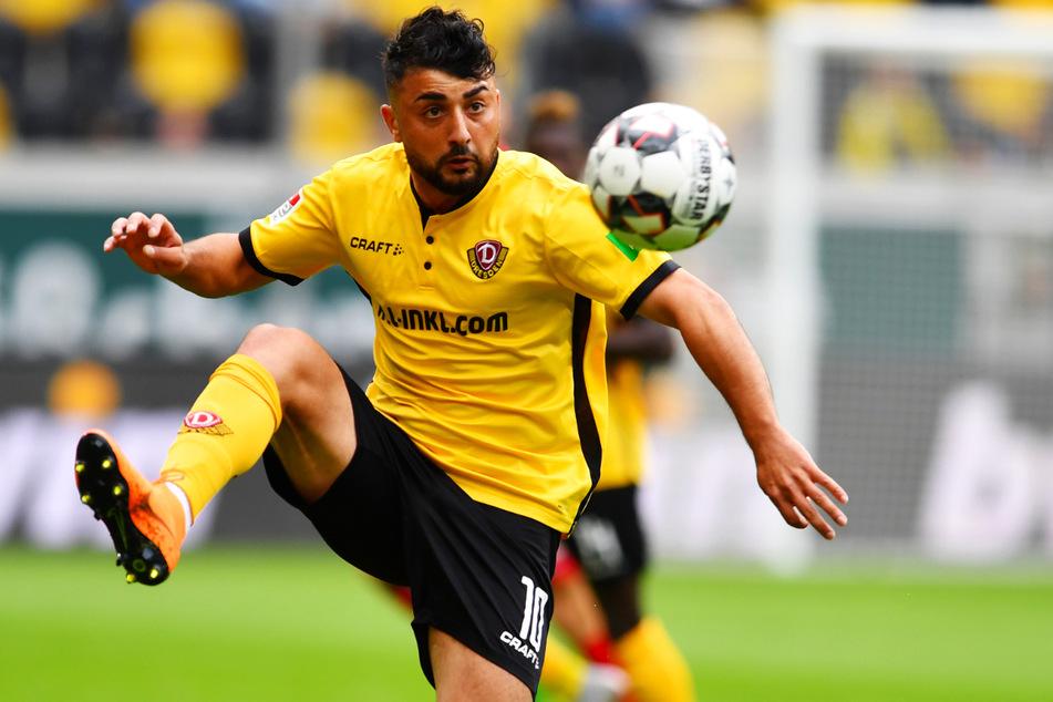 Ex-Dynamo Aias Aosman (26) ist Anfang Februar aus der zweiten türkischen Liga in die erste rumänische Spielklasse zum abstiegsbedrohten FC Hermannstadt gewechselt.