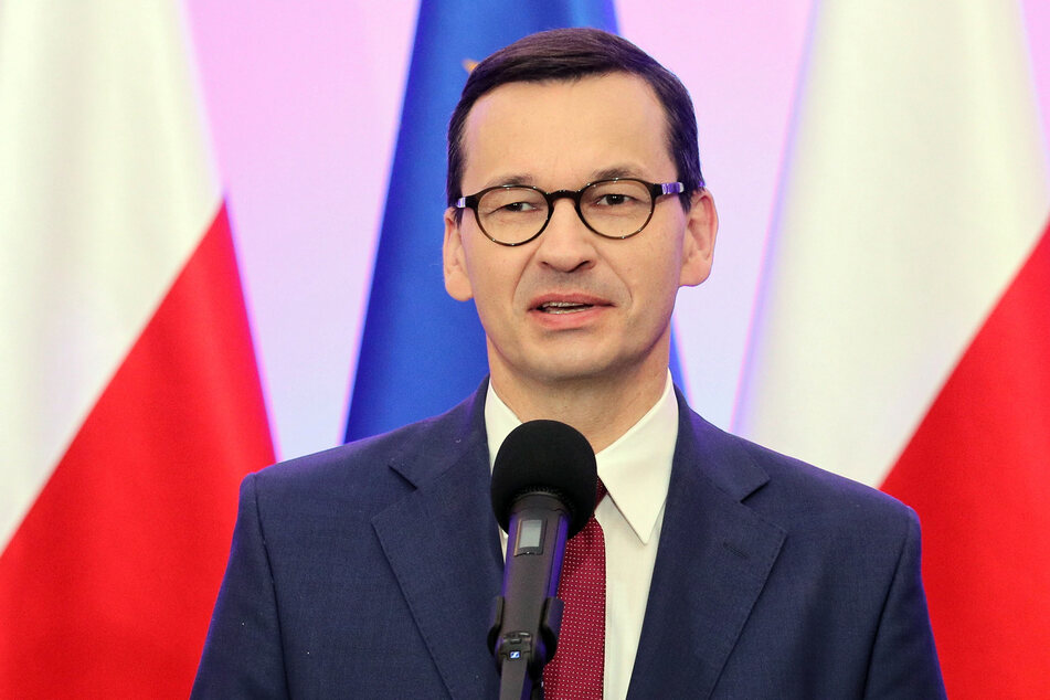 Der polnische Ministerpräsident Mateusz Morawiecki.