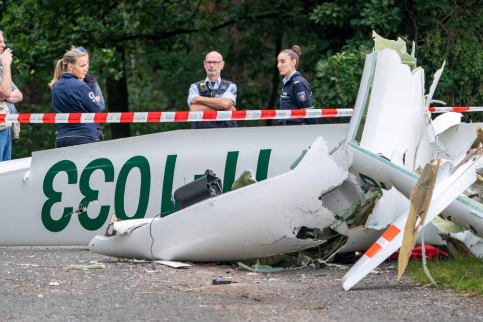 Segelflieger im Münsterland abgestürzt: Zwei Menschen tot