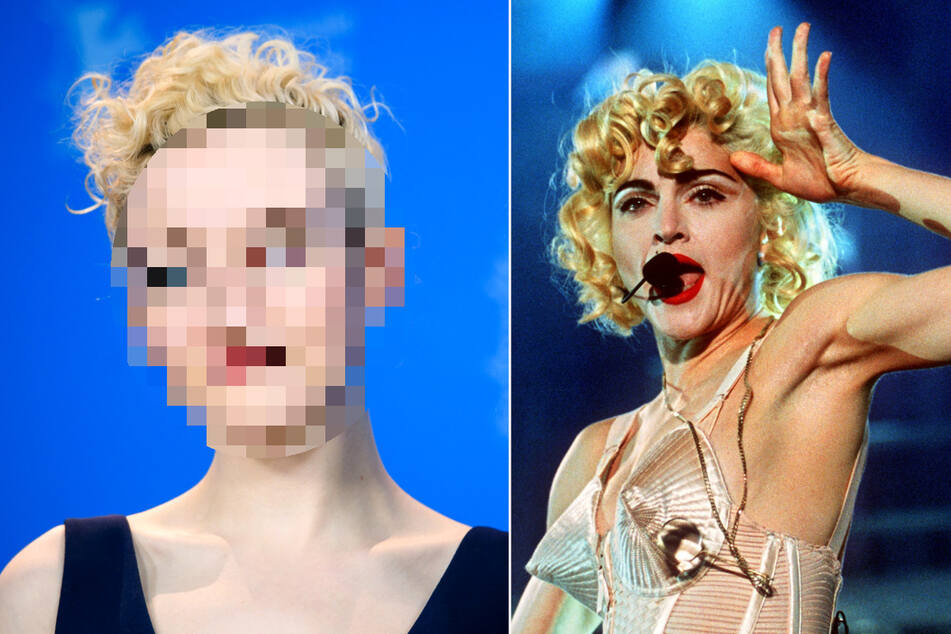 Who will play the queen of pop in the new Madonna movie?