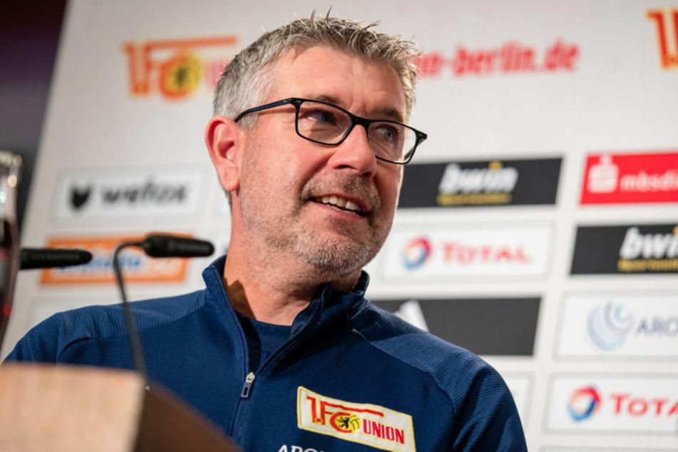 Union-Coach Urs Fischer (54) will mit seiner Mannschaft ausgerechnet gegen Borussia Mönchengladbach in die Erfolgsspur zurückfinden.