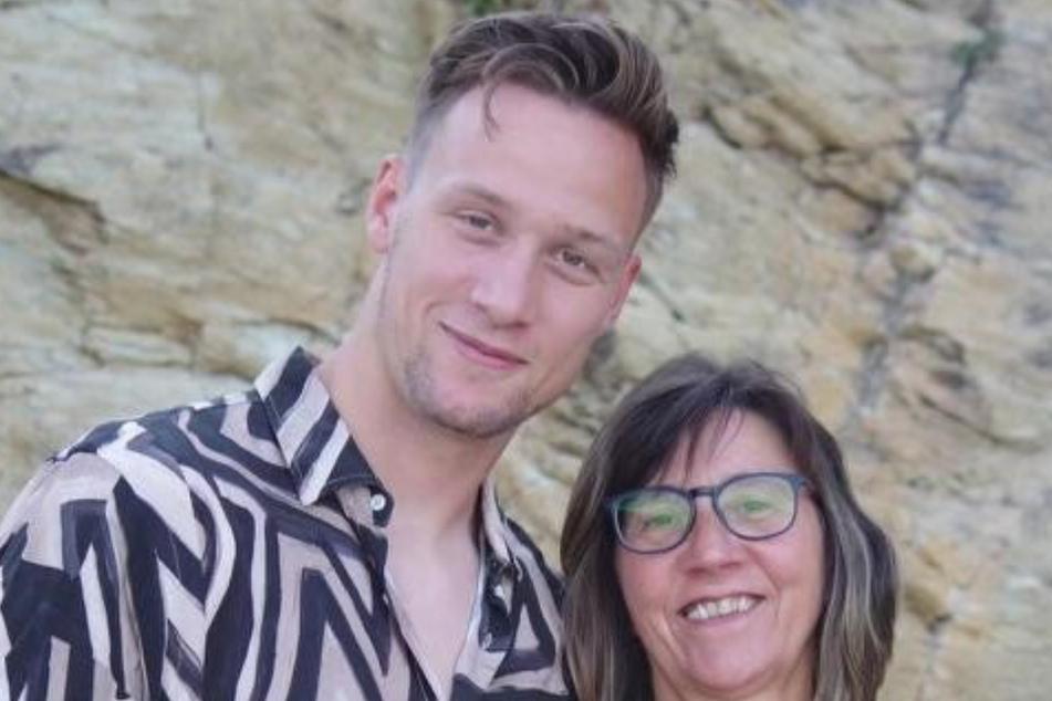 Ein Herz und eine Seele: Tim mit seiner Mutter Birgitt.