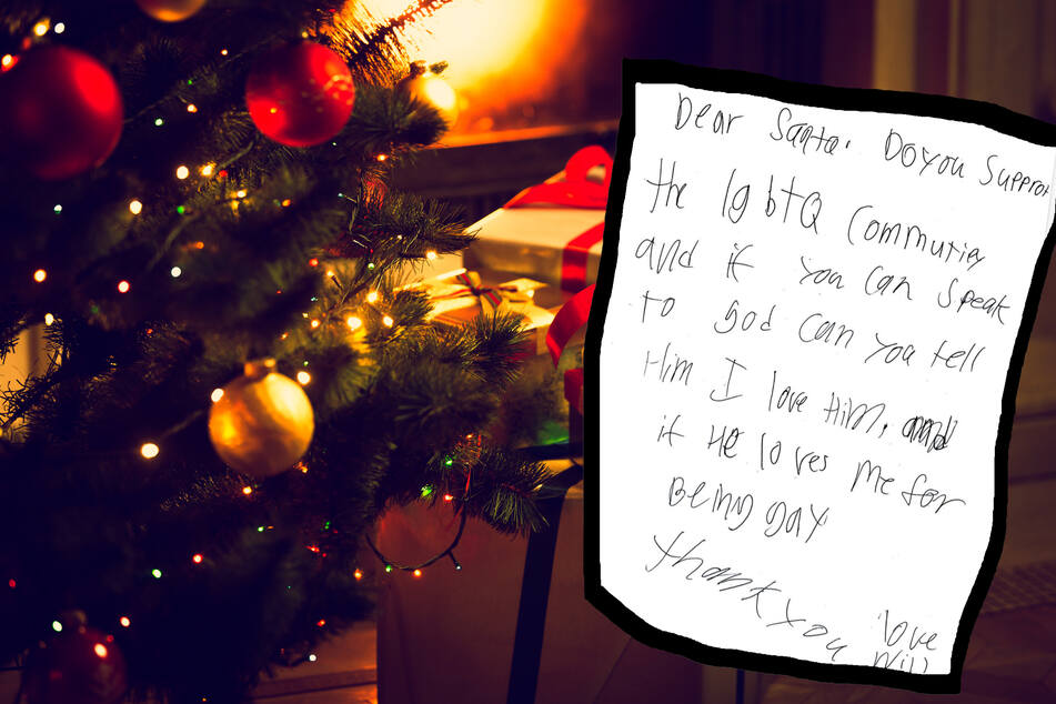 "Boy writes heartbreaking letter to Santa Claus: ""Does God love me for being gay?"""
