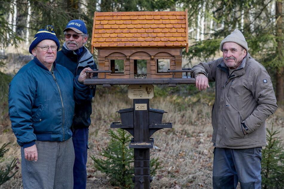 2019 stellte Dießner mit Mitstreitern bereits ein zweites Haus auf.