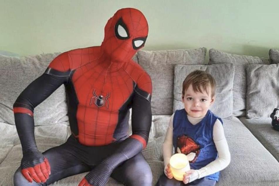 Heldenhaft! Spider-Man will kranken Kindern Mut machen