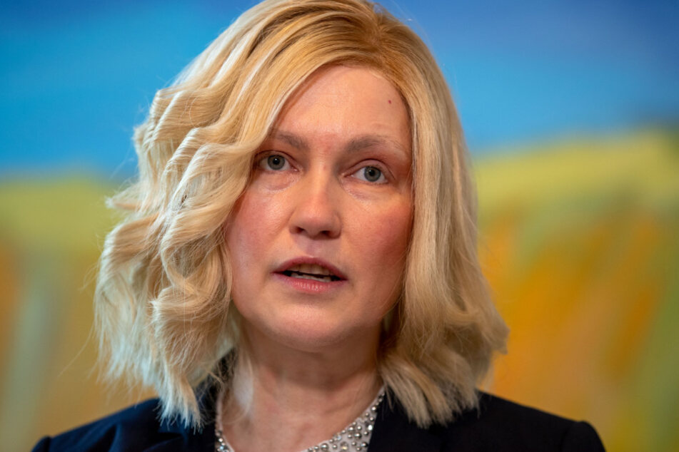 Ministerpräsidentin Manuela Schwesig (SPD) informiert über aktuellen Maßnahmen gegen die Ausbreitung des neue Coronavirus.