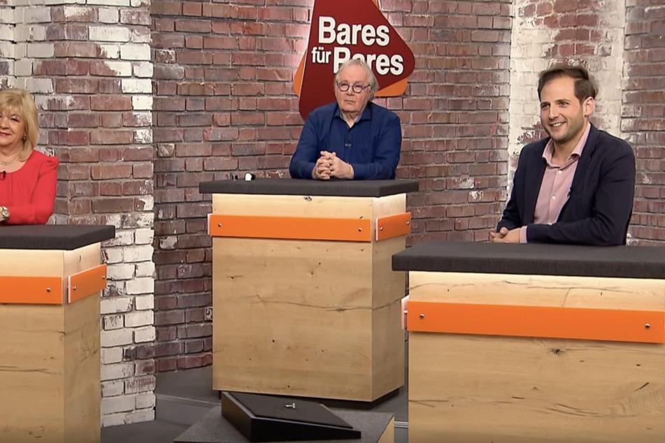 Ein Teil der Bares für Rares-Händler (v.l.n.r.): Elke Velten, Thorsden Schlößner und Julian Schmitz-Avila.