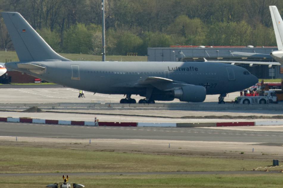Hilfe für Italien: Luftwaffe fliegt Covid-19-Patienten erfolgreich nach Köln