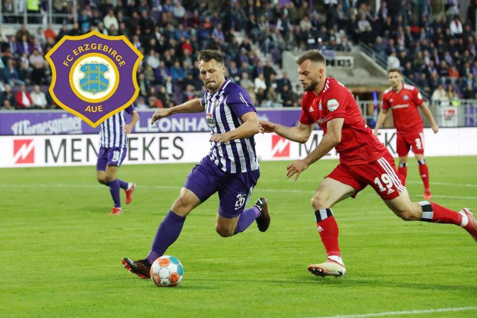 Eigentor in der Nachspielzeit! Aue gibt 1. Saisonsieg gegen HSV noch her