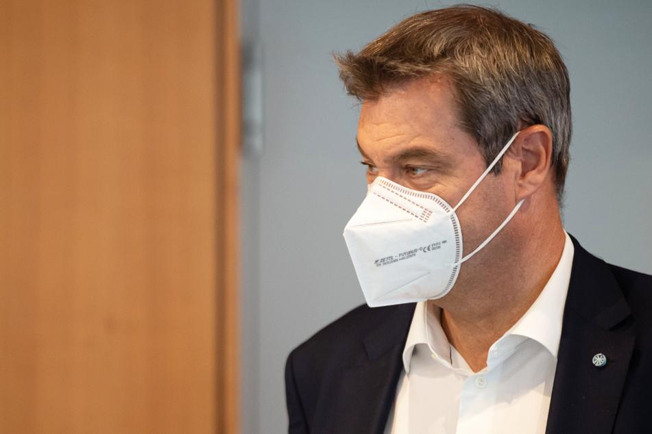 Kampf gegen das Coronavirus in Bayern: Ministerpräsident Markus Söder (54, CSU) erläutert im Landtag die neuen Regeln für den Freistaat.
