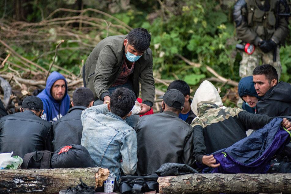 Flüchtlinge versuchen über Belarus nach Europa zu kommen. Nicht alle Geflüchteten wollen auch in Deutschland bleiben.