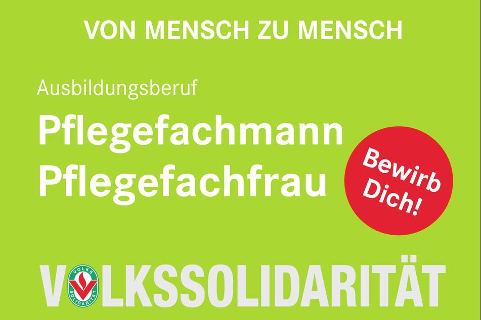 Die Volkssolidarität Dresden bildet auch aus.
