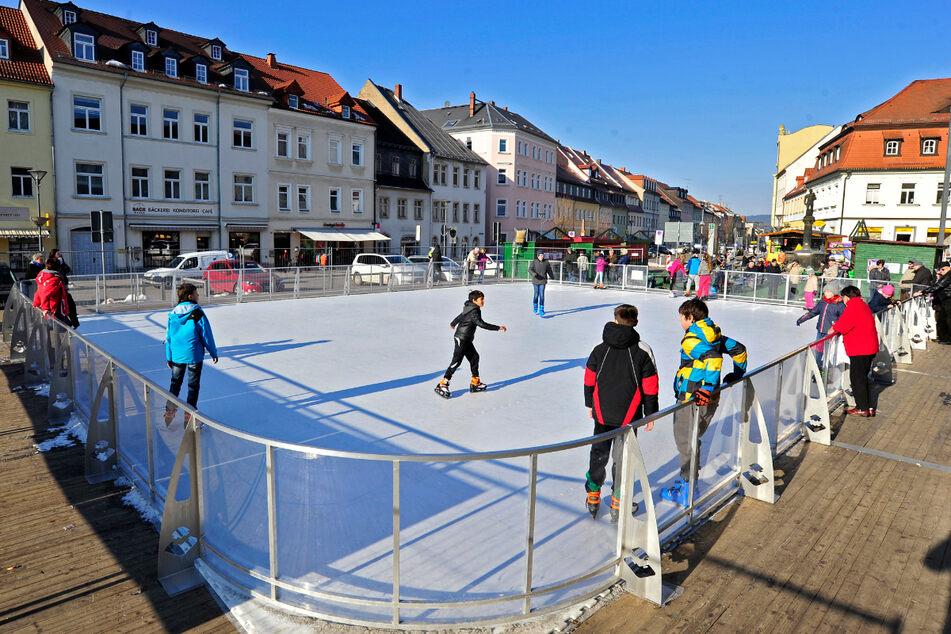 Wie in Frankenberg soll bald auch in Limbach-Oberfrohna eine Eisarena in der Innenstadt entstehen.
