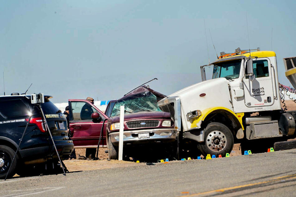 "Catastrophic California road crash declared ""mass fatality incident"""