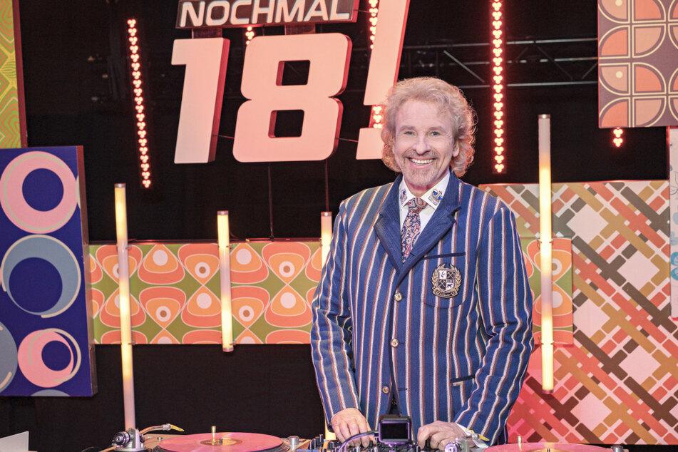 """Thomas Gottschalk (70) reist einmal im Monat mit seinen drei prominenten Gästen zurück in die Zeit ihrer Volljährigkeit in der neuen Show """"Gottschalk feiert: Nochmal 18!"""""""