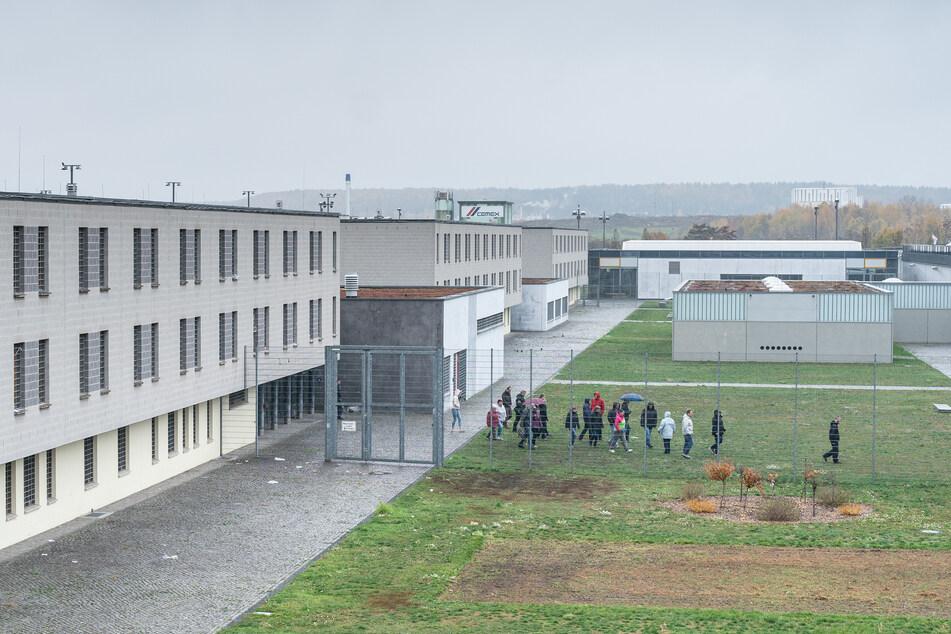 Die Justizvollzugsanstalt Dresden am Hammerweg.