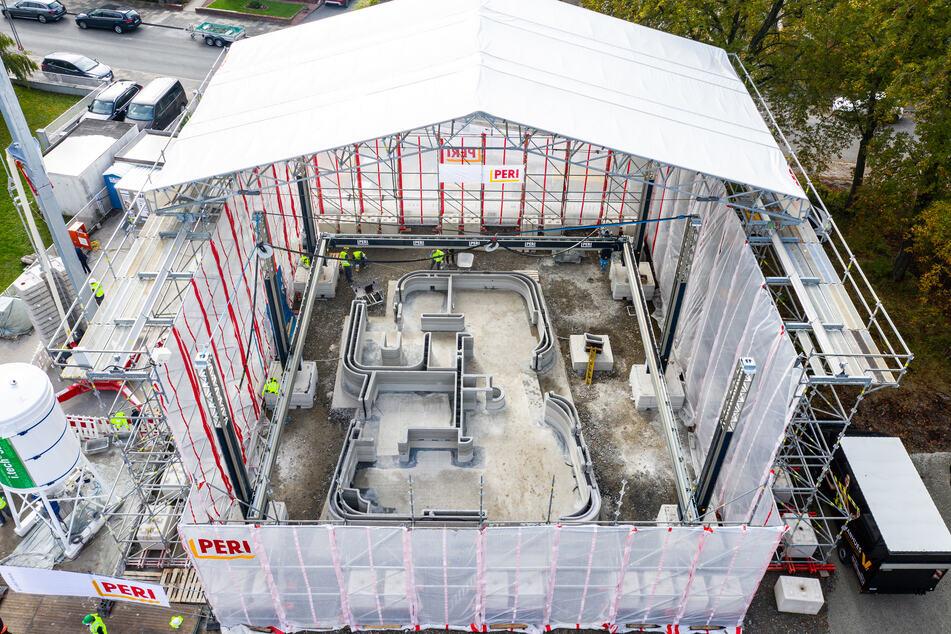 Verrückt: So entsteht Deutschlands erstes 3D-Druck-Wohnhaus