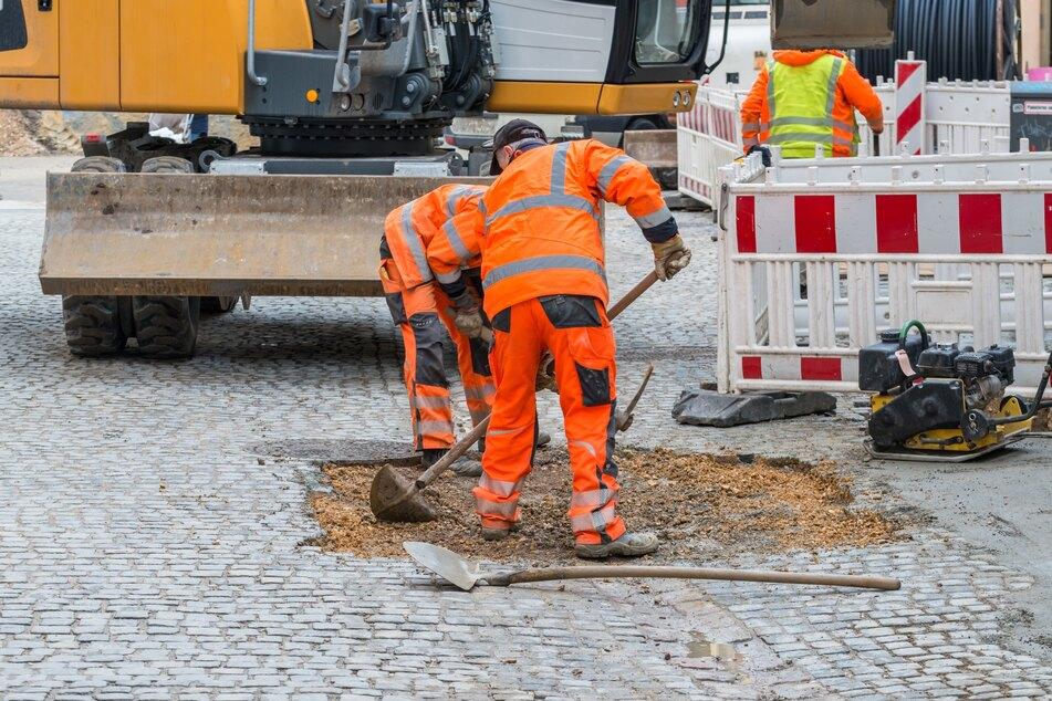 Beim Thema Sicherheit fallen laut der Landesdirektion Sachsen die Hälfte der Baustellen in Chemnitz durch (Symbolbild).