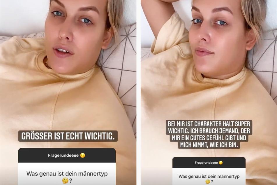In zwei Instagram-Storys erklärte Josimelonie (27) am Montag ausführlich, welchen Typ Mann sie bevorzugt.