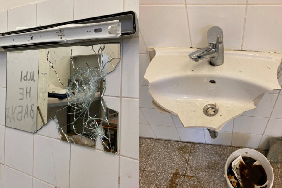 Mehrere Inhaftierte randalieren und demolieren Gefängniszelle