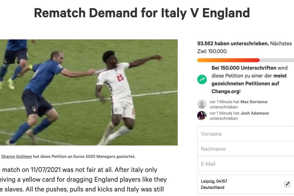 Die Petition hat bereits über 90.000 Unterschriften.