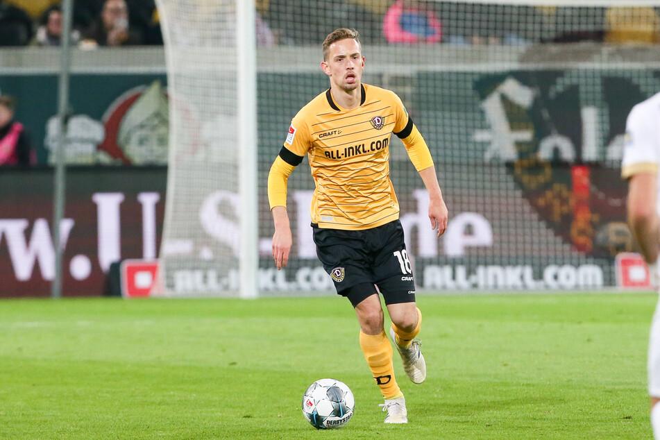 Von 2014 bis 2020 kickte Jannik Müller für Dynamo Dresden, kam dabei auf 145 Einsätze.