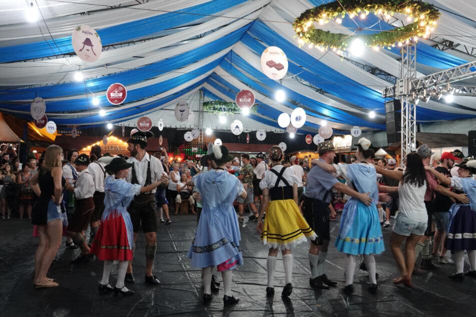 """Während München in die Röhre guckt: Russen feiern """"Oktoberfest"""" in Moskau"""