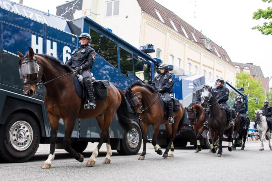 1. Mai in Hamburg: Polizei bereitet sich trotz Coronavirus auf viele Demos vor