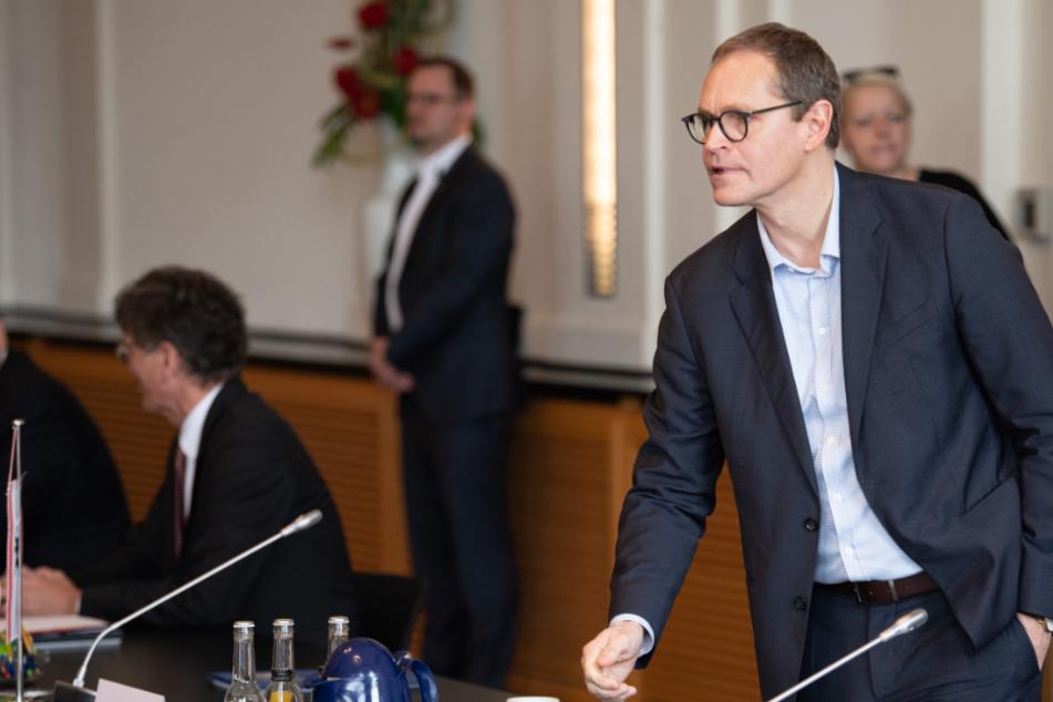 Michael Müller (55, SPD), Berlins Regierender Bürgermeister.