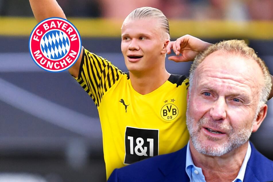 """Ex-Bayern-Chef Rummenigge prophezeit """"Auktion"""" um Haaland"""