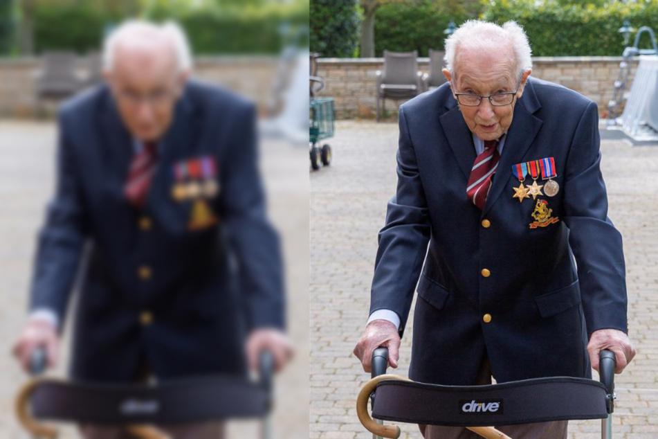 99-jähriger Kriegsveteran will vor seinem Geburtstag Geld sammeln, doch das Ergebnis übertrifft alles