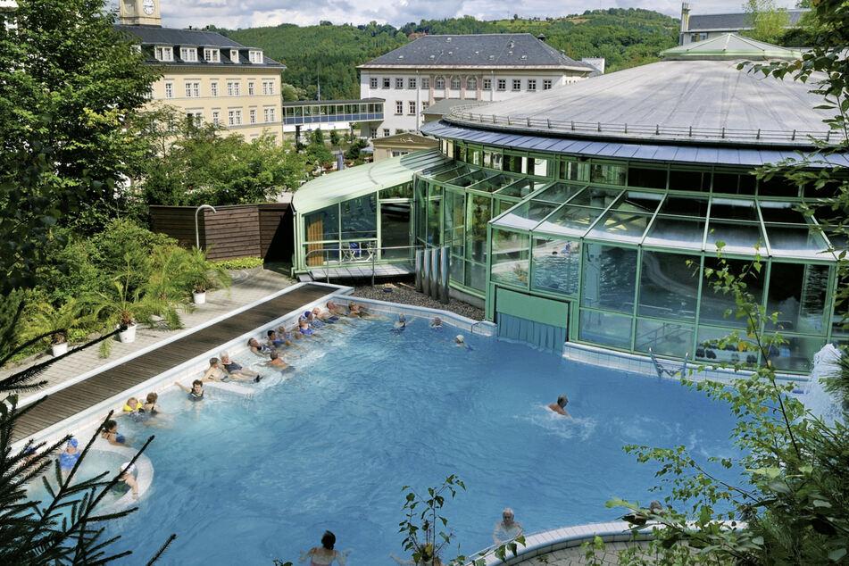 Die sächsischen Thermen, wie das Thermalbad Wiesenbad, sind besonders von der Corona-Krise betroffen.