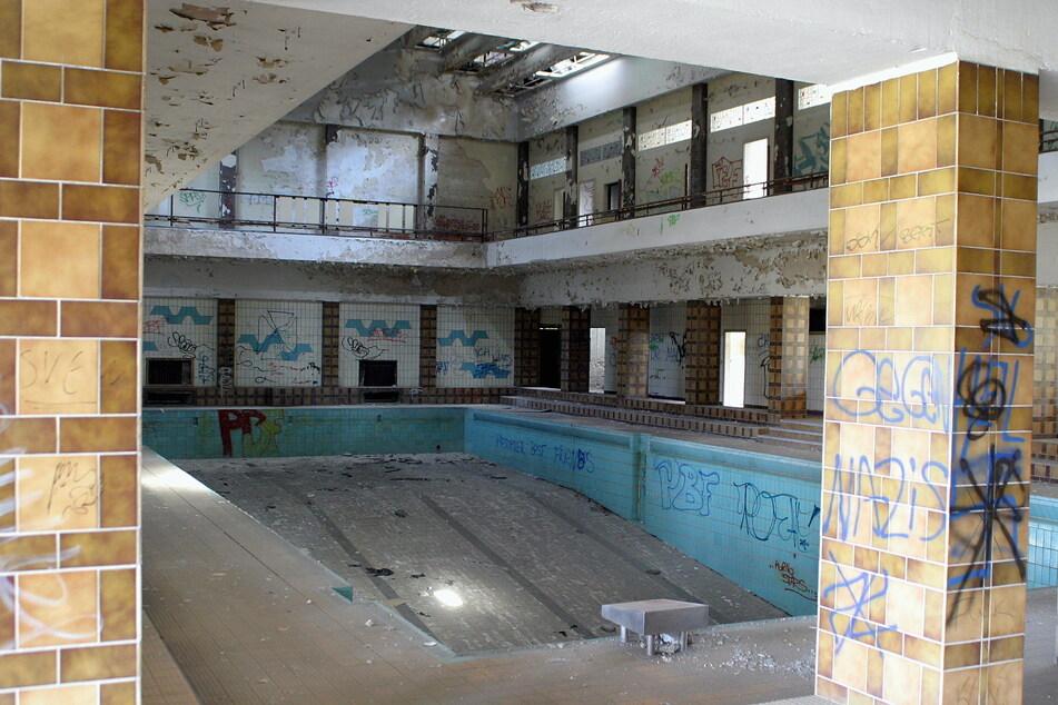 So desolat sah das Bad bereits vor über 15 Jahren aus.