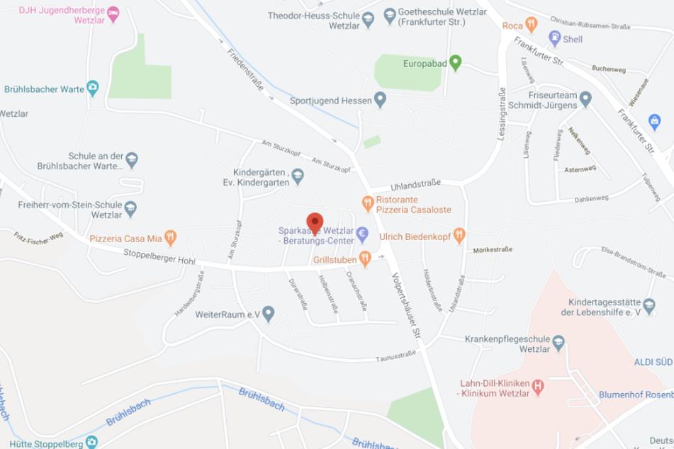 Der Vorfall ereignete sich in derMax-Berek-Straße.