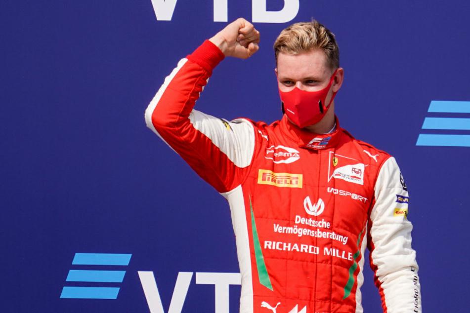 Mick Schumacher (21) wird in der kommenden Saison für den Ferrari-Partner Haas in der Formel 1 fahren.