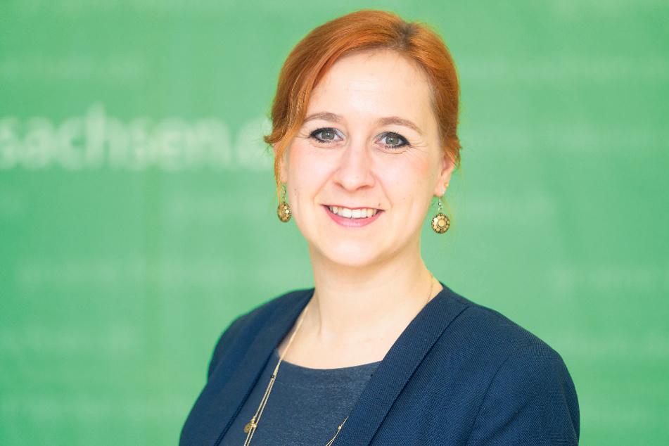 Grünen-Fraktions-Chefin Franziska Schubert (37) sieht keinen Handlungsbedarf.