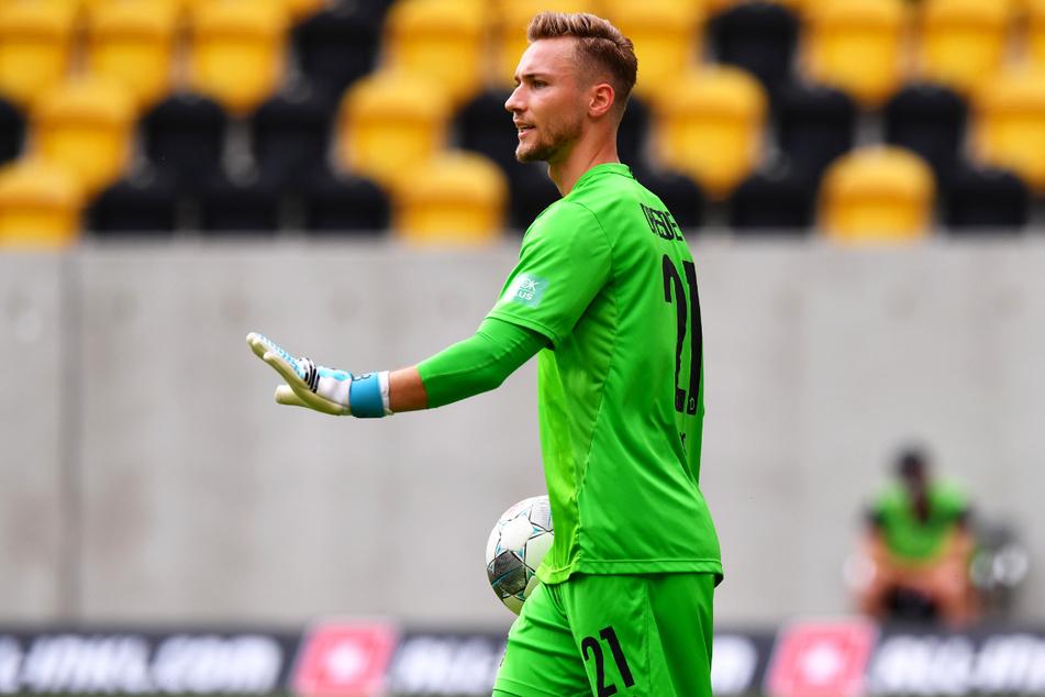 Tim Boss (28) kam in zwei Jahren lediglich einmal für Dynamo Dresden zum Einsatz. Am 34. Spieltag der Saison 2019/20 durfte er als Bonbon beim 2:2 gegen den VfL Osnabrück ran.