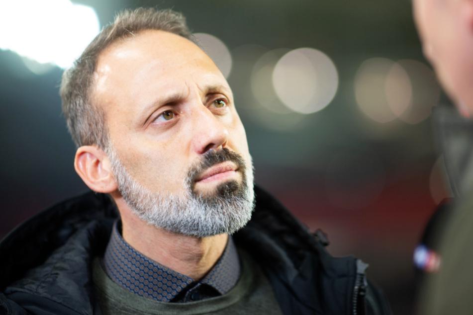 Sein Vertrag wurde bis 2022 verlängert: VfB-Coach Pellegrino Matarazzo (42).