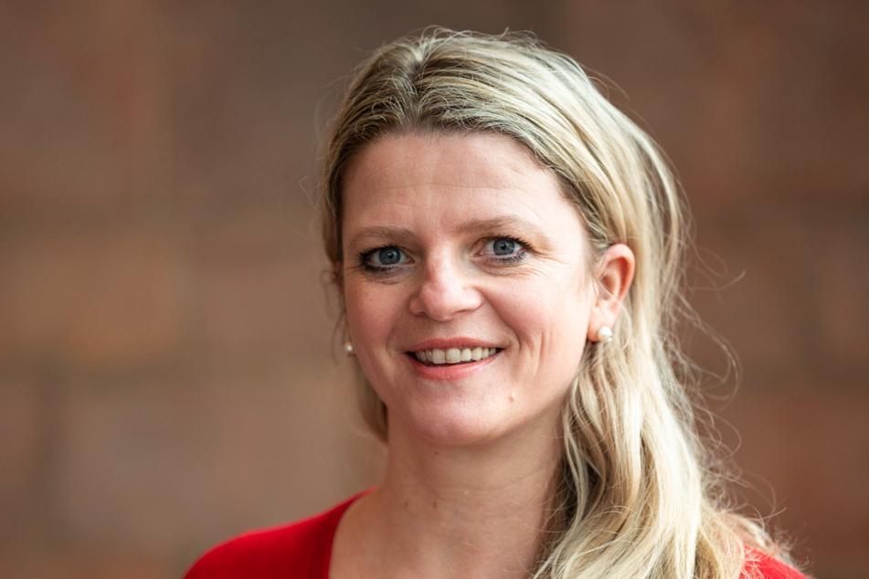 Susanne Schaper (43, Linke) bewirbt sich als einzige Frau für den Posten als Chemnitzer Sozialbürgermeisterin.