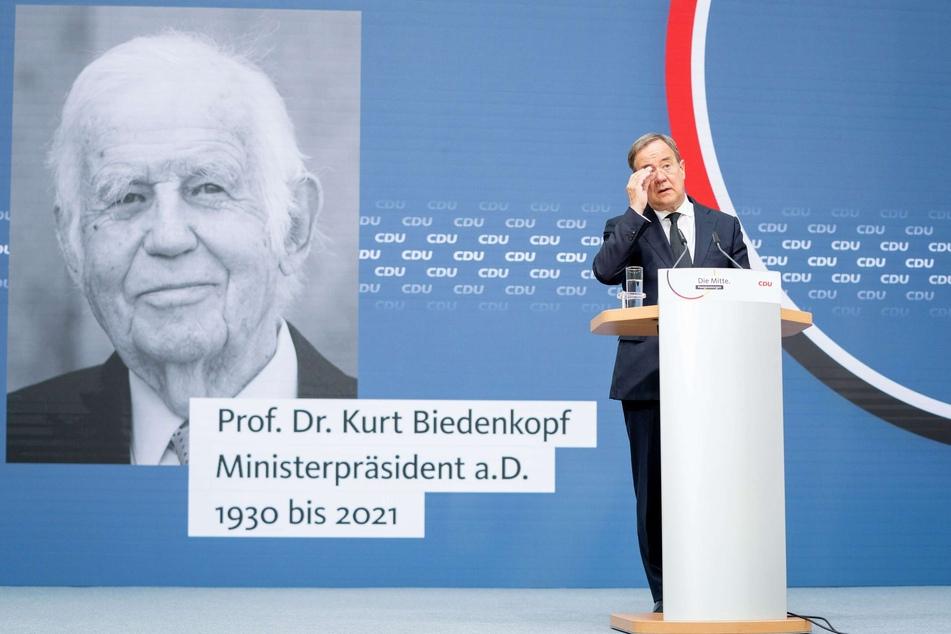 CDU-Kanzlerkandidat Armin Laschet (60) wird zur Trauerfeier für den verstorbenen Kurt Biedenkopf am 3. September in Dresden erwartet.