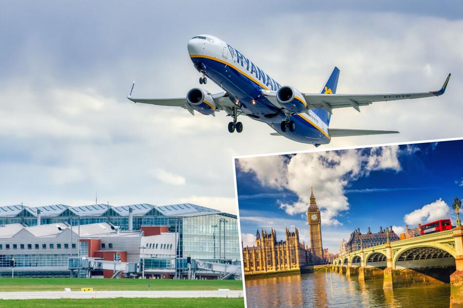 Dresden: Ryanair fliegt wieder Dresden– London