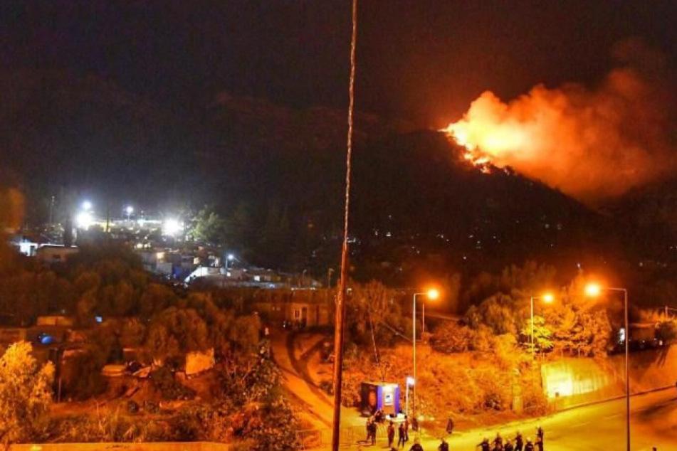 Nach Lesbos: Nächste griechische Insel in Flammen