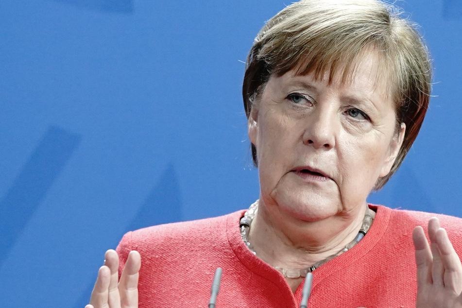 Bundeskanzlerin Angela Merkel (65, CDU). (Archivbild)