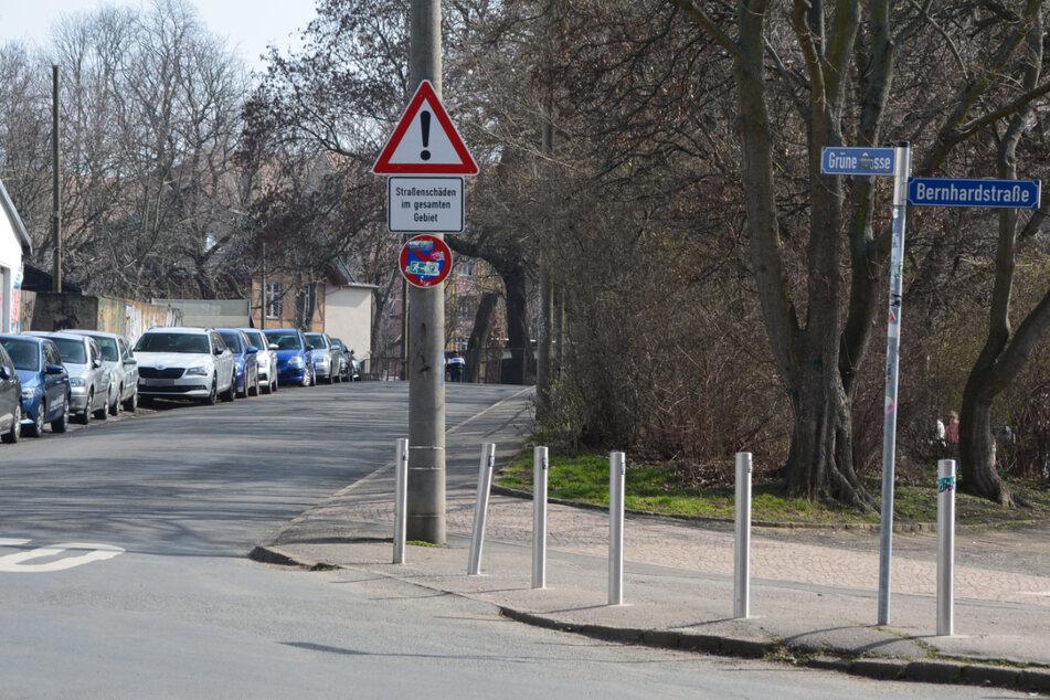 Ein beliebter Schleichweg von Pendlern durch Anger-Crottendorf ist die Grüne Gasse – zum Leidwesen der Anwohner.
